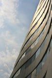 sole di mattina della costruzione Fotografie Stock Libere da Diritti
