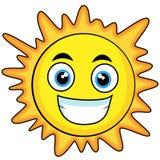 Sole di sguardo sveglio Fotografia Stock Libera da Diritti
