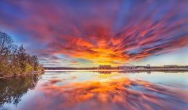 Sole di timore Fotografie Stock
