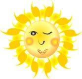 Sole divertente illustrazione vettoriale