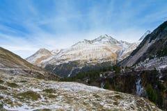 Sole e montains Fotografia Stock Libera da Diritti