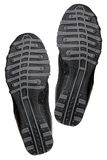 Sole of fashion sport shoes Stock Image