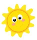 Sole felice illustrazione di stock