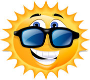 Sole felice Fotografia Stock Libera da Diritti