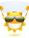 Sole felice di estate Fotografie Stock