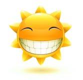 Sole felice di estate illustrazione vettoriale