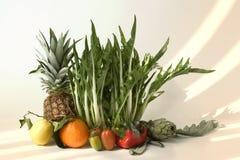 Sole, frutta e verdure Fotografia Stock Libera da Diritti