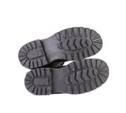 Sole of men's shoes. Royalty Free Stock Photography