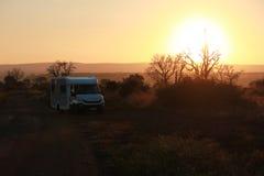 Sole nel parco nazionale del kruger Fotografia Stock
