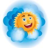 Sole positivo Fotografia Stock Libera da Diritti