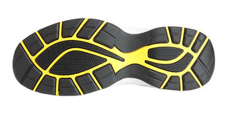 Sole of sport shoe Royalty Free Stock Images