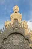 Sole sul santuario della colonna di Citi, Nan Province Immagini Stock Libere da Diritti