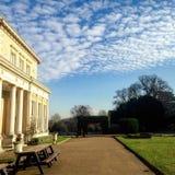 Soleado y nubes Fotografía de archivo libre de regalías