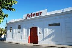 Solear Bodega, Sanlucar de Barrameda. Royalty Free Stock Photography
