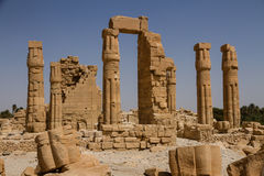 Soleb Temple Sudan Royalty Free Stock Photo