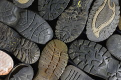 Soled shoes texture Royalty Free Stock Photos