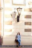 Soledad en la ciudad grande Imagenes de archivo