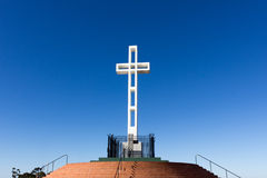 Soledad Mountain Memorial Cross royalty free stock photo