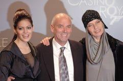 Solei Campbell, Martin Campbell, Veruschka von Leh Royalty Free Stock Photo