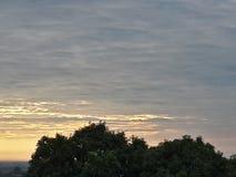 Soleil bonjour Images libres de droits