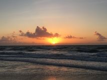 Soleil bonjour image stock