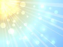 Soleil d'été Image stock
