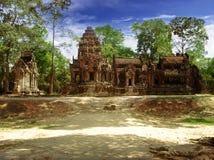 Soleil d'Angkor Images libres de droits