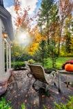 Soleil d'automne Photos stock