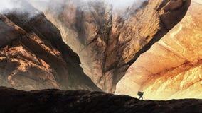 Soleil dans la vallée images stock