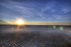 Soleil de désert Images libres de droits