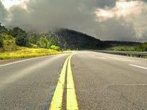 soleil de pluie Photographie stock