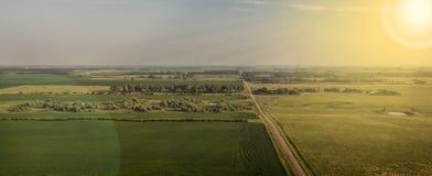 Soleil du Dakota du Sud photos stock