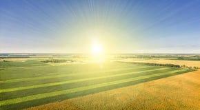 Soleil du Dakota du Sud images libres de droits
