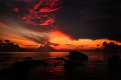 Soleil Levant Image libre de droits