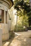 Soleil magique à Venise Image libre de droits