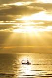 Soleil pendant le matin Photo stock