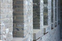 Soleira do tijolo Fotografia de Stock