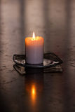 Solemn candle II Stock Photo