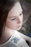 Solemn girl Royalty Free Stock Photo
