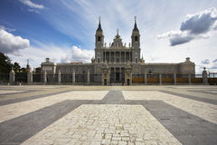 Solemn royal palace Royalty Free Stock Images