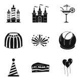 Solemnization icons set, simple style. Solemnization icons set. Simple set of 9 solemnization vector icons for web isolated on white background Royalty Free Stock Image