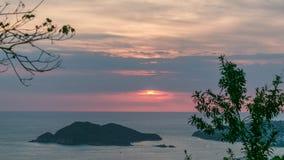 Solen är borttappad i molnen Fotografering för Bildbyråer