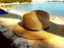 Solen går på hatten Arkivbild