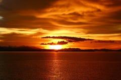 Solen komms fotografering för bildbyråer