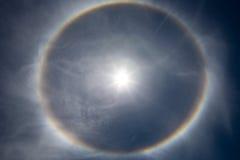 Solen med strålar Royaltyfria Foton