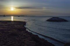 Solen och horisonten Royaltyfri Bild