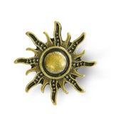Solen rays guld Arkivbild