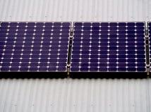 Solenergi i Australien Arkivfoto