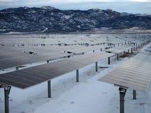 Solenergibransch royaltyfria bilder