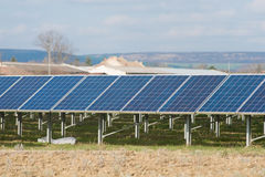 Solenergicollctors Fotografering för Bildbyråer